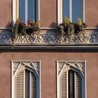 Casa Saralvo (esterno, dettaglio)