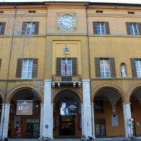Palazzo Albornoz, sede del Comune, oggi