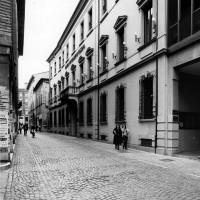 Cesena, il palazzo dei conti Fantaguzzi in Corso Sozzi, 1978 (BCM Fondo Dellamore, FDP 1011)