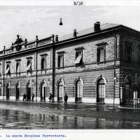 Cesena, la nuova stazione ferroviaria, 1928-1930 (BCM Fondo Dellamore, FDP 1245)