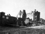 S. Maria in Porto Fuori dopo il bombardamento