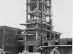 Casa della Gioventù italiana del littorio durante la costruzione