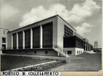 Casa della Gioventù italiana del littorio, portico di collegamento