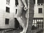 """Collegio aeronautico """"B. Mussolini"""", statua di Icaro"""