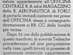 Manifesto Comando tedesco aeronautico Forlì