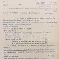 Elenco dei ricoveri scolastici a Cesena 1di3, 1943 (AS-FC Fo, C.P.P.A.A. Comitato Provinciale di Protezione Antiaerea, busta n. 28)