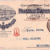 Fratelli Battistini Calzaturificio Trento, Forlì 1934