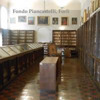 Biblioteca comunale di Forlì, Raccolte Piancastelli