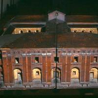 Palazzo del Merenda, Modellino
