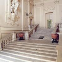 Palazzo del Merenda, scalone monumentale di Raimondo Compagnoni