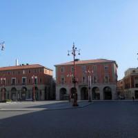 Palazzo Serughi, vista da Piazza Saffi
