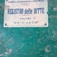Registro ditte 1911-1925, Archivio storico della Camera di Commercio di Forlì