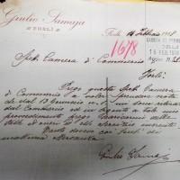 Registro ditte 1911-1925, Cessazione attività Giulio Samaia (CCIAA)