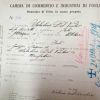 Registro ditte 1911-1925, Sabatino Del Vecchio (CCIAA)