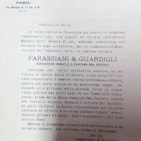 Regitro ditte1911-1925, Parassiani - Guardigli (CCIAA)