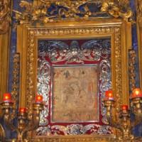 Duomo di Forlì, dettaglio dell'altare maggiore