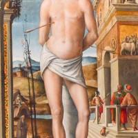 Duomo di Forlì, dipinto di San Sebastiano