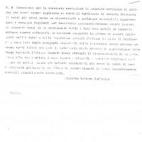 Ordine di istituzione dei campi di concentramento provinciali (ASFo)