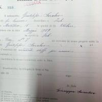 Giuseppe Saralvo, Rivendita stoffe per uomo via delle Torri (CCIAA)