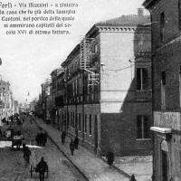 Via Mazzini (Biblioteca A. Saffi di Forlì, Raccolte Piancastelli)