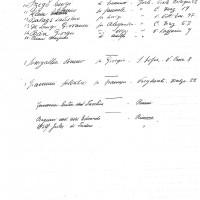 Censimento ebrei del 22.08. 1938 - 2 parte (ASFo)