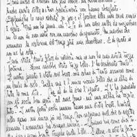 Commuovente lettera di Camelia Matatia scritta poco prima di essere arrestata, nel dicembre 1943 (Roberto Matatia)
