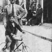 Nissim Matatia con il figlio Roberto (foto di Roberto Matatia)