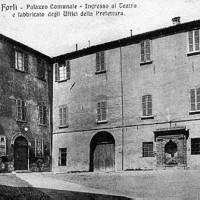 Piazza XC Pacifici, Teatro ( Collezione Piancastelli, Biblioteca A. Saffi, Forlì)