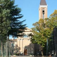 La chiesa di Gattolino oggi, fronte