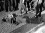 Un partigiano ucciso.