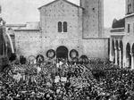 I funerali di Ettore Muti in Piazza San Francesco