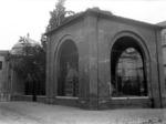 La tomba di Dante e il Quadrarco di Braccioforte nel 1921