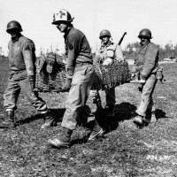 Soldati americani sul Monte Belvedere