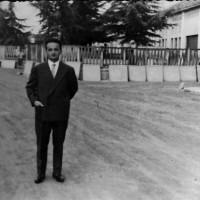 Via Galliano; sulla destra Coop Falegnami, alle spalle Cementori