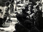 20 maggio 1945_Il banchetto offerto dall'UDI il giorno della smobilitazione della 28a Brigata partigiana