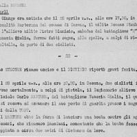 Estratto del Bollettino GNR 5 maggio 1944