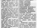 """La """"Gazzetta di Parma"""" dà notizia del primo bombardamento alleato sulla città, 24 aprile 1944"""