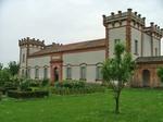 Delizia del Verginese, castello estense che durante il secondo conflitto mondiale fu occupato prima da truppe militari poi da sfollati.