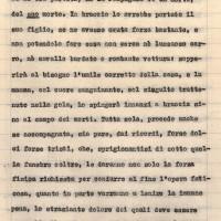 Nella giornata del 15 aprile 1945 il cronista Adamo Pedrazzi racconta il recupero del corpo di un giovane partigiano
