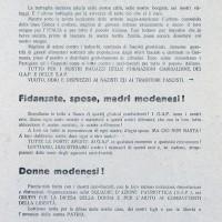 Volantino diffuso dai GDD nel momento in cui ci si illude che sia vicina la Liberazione