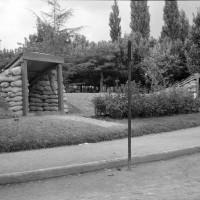 Rifugio antiaereo in viale Regina Elena, ora viale Martiri della libertà, di fronte alla Prefettura