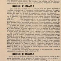 «In Germania non si deve andare» sostiene il volantino diffuso dai GDD a Modena nell'aprile del 1944 invitando a scioperare