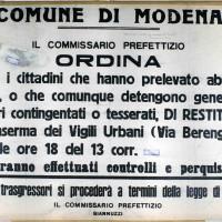 Fin dal settembre 1943 le donne assaltano gli ammassi per prelevare viveri, nonostante le contromisure prese dalle autorità