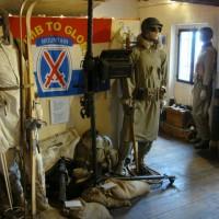 Una sala del Museo memorie d'Italia di Iola di Montese