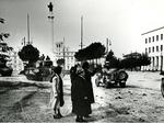 Piazza della Vittoria: Liberazione di Forlì (9 novembre 1944)