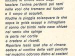 Ai morti della 47a, di Ubaldo Bertoli, partigiano Gino.