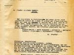 Circolare bilingue del Comune di Modena subito dopo l'occupazione tedesca.