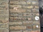 Monte di pietà, scritta indicazione rifugio