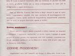 Volantino dei Gruppi di difesa della donna di Modena.