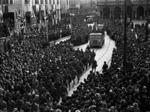 Sfilata delle Divisioni partigiane il 5 maggio 1945